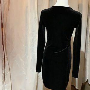 Forever 21 Dresses - Velour Black Dress